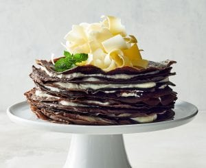 Oreo Cookie Crepe Cake