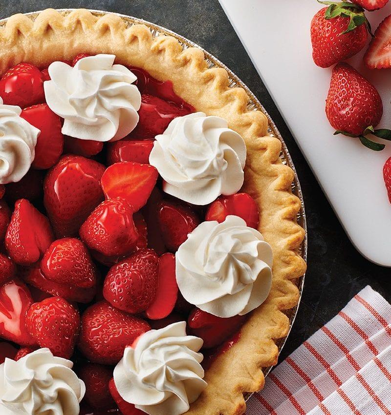 Sensational Strawberry Pie