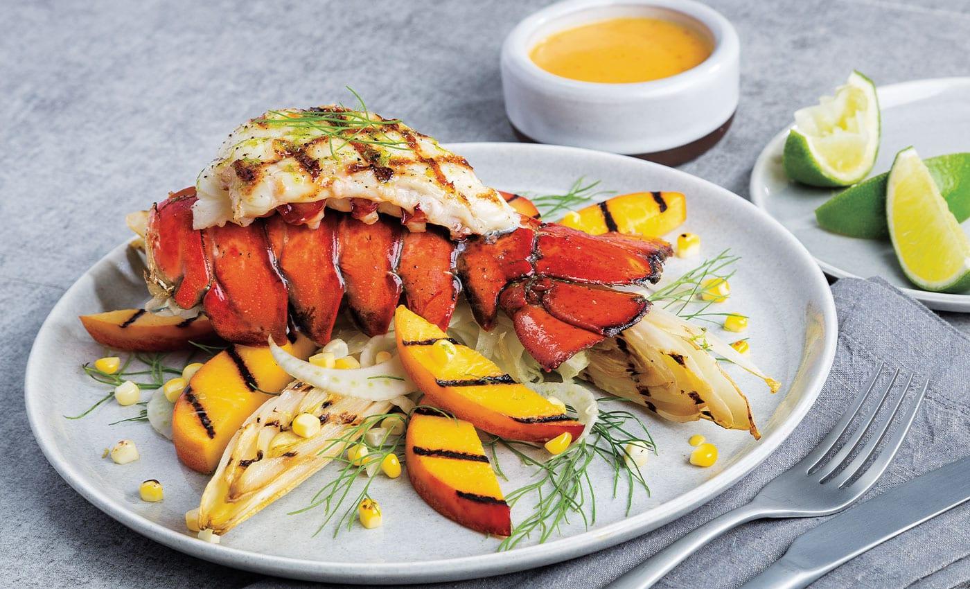 Saddleback Lobster Tails