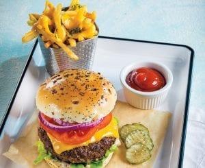 all american burger brisket patty