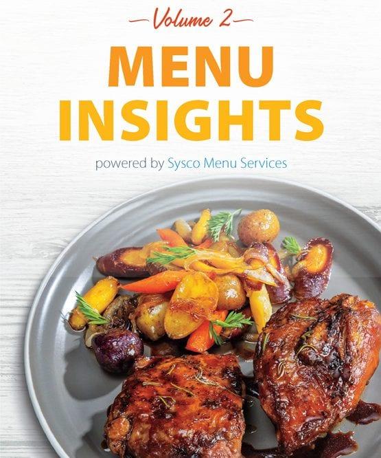 Sysco Menu Service's Menu Insights Volume 2