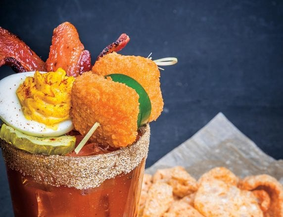 Southern Belle Bloody Mary Mocktail