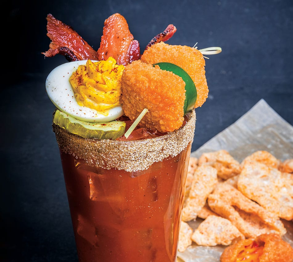 Southern Belle Bloody Mary Mocktail - Sysco Foodie