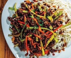 Szechuan-Style Plant Based Stir-Fry