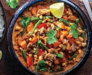 Vegan Thai Massaman Curry