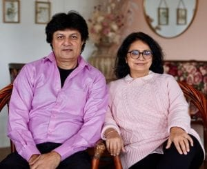 Gather Cafe Bistro Bar owners, Sumesh and Dimple Bakshi