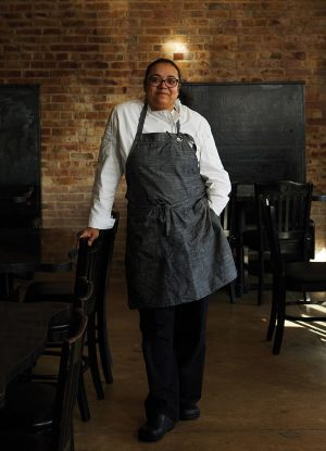 Chef Anita Moore from Soirée Steak and Oyster House