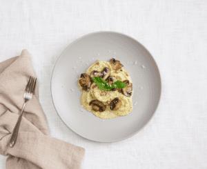 Stuffed Ravioli With Pesto