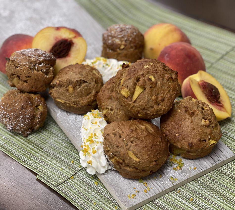 Peach Pie Muffins